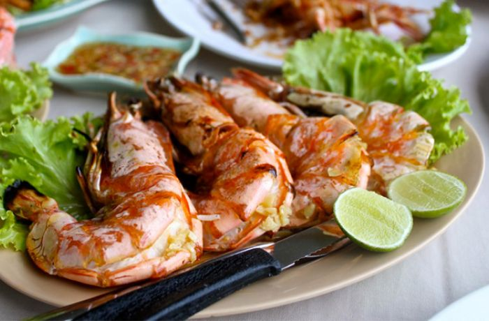 Сколько стоят креветки в тайланде