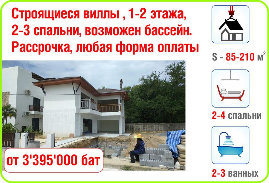Недвижимость на таиланде купить готовые квартиры